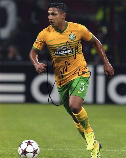 Emilio Izaguirre, Glasgow Celtic, Honduras, signed 10x8 inch photo.